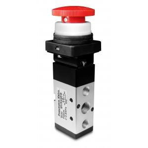 Ručný ventil 5/2 MV522EB 1/4 palcové pohony