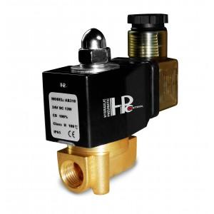 Elektromagnetický ventil 2N08 1/4 230V alebo 24V, 12V Viton - odolný voči chemikáliám