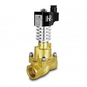 Elektromagnetický ventil pre paru a vysokú teplotu. RHT25 DN25 300C 1 palec