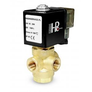 3-cestný elektromagnetický ventil 3V 3x1 / 4 palca 230V 24V 12V