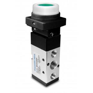 Ručný ventil 5/2 MV522PP 1/4 palcové pohony