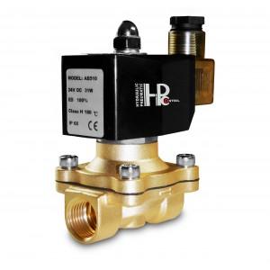 Elektromagnetický ventil 2N15 1/2 palca FPM Viton + 150C