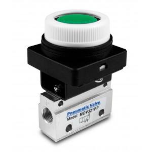 Ručný ventil 3/2 1/4 palcové pohony MOV321PP