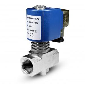 Elektromagnetický ventil pre paru RV15 1/2 palca 180C