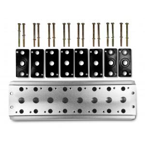 Zberná doska na pripojenie 8 ventilov 1/4 série 4V2 4A, skupinový ventilový terminál 5/2 5/3