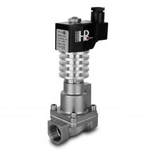 Elektromagnetický ventil pre paru a vysokú teplotu. RHT15-SS DN15 300C 1/2 palca