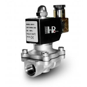 Elektromagnetický ventil 2N25 1 palec z nehrdzavejúcej ocele SS304 Viton