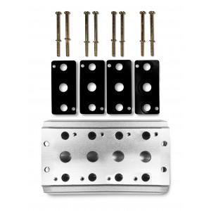 Kolektorová doska na pripojenie ventilového terminálu skupiny 4V2, ventilového terminálu 4A 5A 5/2 5/3