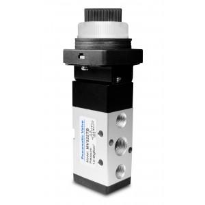 Ručný ventil 5/2 MV522TB 1/4 palcové pohony