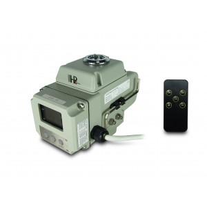 Elektrický pohon guľového ventilu A1600 230V AC 160Nm ovládanie 4-20mA