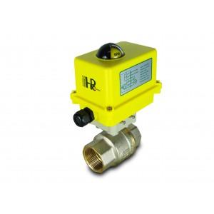 Guľový ventil 1 1/2 palca DN40 s elektrickým pohonom A250