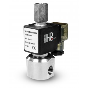 3-cestný elektromagnetický ventil RM23-02 3 x 1/4 palca