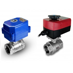 Guľový ventil 1/2 palca z nehrdzavejúcej ocele s elektrickým pohonom A80 alebo A82