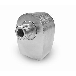 Uhlová otočná spojka pre autoumyvárku s točňou na 1/4 palca