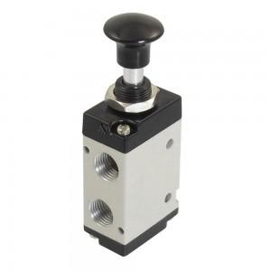 Ručne stlačený ventil 5/2 4L210 1/4 palca pre pohony