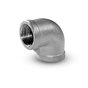 Kolenný vnútorný závit z nehrdzavejúcej ocele 1/4 palca
