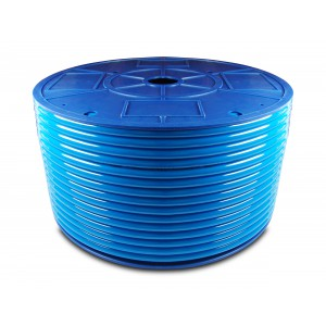 Polyuretánová pneumatická hadica PU 6/4 mm 1m modrá