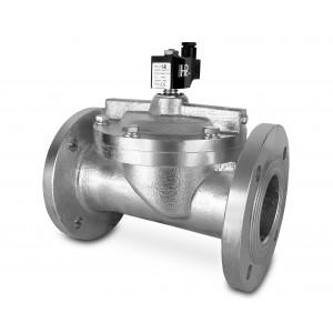 Prírubový elektromagnetický ventil DF80-NO DN80
