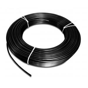 Polyamidová pneumatická hadica PA Tekalan 6/4 mm 1m čierna