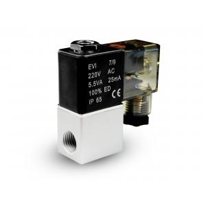 Elektromagnetický ventil na vzduch a co2 2V08 1/4 230V 24V 12V