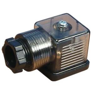 Pripojte k elektromagnetickému ventilu 18 mm DIN 43650 s LED