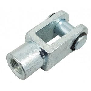 Kĺbová hlava Y M8 aktuátor 20 mm ISO 6432