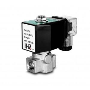 Vysokotlakový elektromagnetický ventil HP15-M nehrdzavejúca oceľ SS304 110 bar