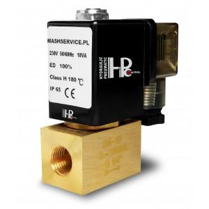 Elektromagnetický ventil 2M08 1/4 palca 0-16bar 230V 24V 12V