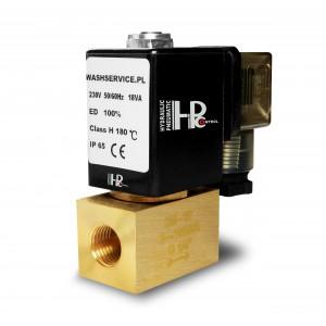 Elektromagnetický ventil 2M10 3/8 palca 0-16bar 230V 24V 12V