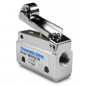 Ručný ventil 3/2 pohony MOV321R 1/8 palca
