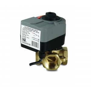 4-cestný zmiešavací ventil 1 1/4 palca s elektrickým pohonom AM8