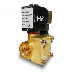 Elektromagnetický ventil 2K15 1/2 palca 230V alebo 12V 24V