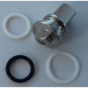 Opravná sada pre vysokotlakový 3-cestný guľový ventil 1/4 palca ss304 HB3