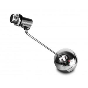 Plávajúci ventil, plniaci ventil z nehrdzavejúcej ocele DN20 3/4 palca