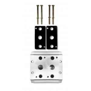 Zberná doska na pripojenie 2 ventilov 1/4 série 4V2 série 4A ventilového terminálu 4A 5/2 5/3