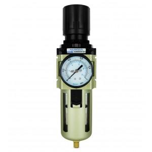 Manometer manometra regulátora redukcie filtra a filtru s filtrom 1/2 palca AW4000-04