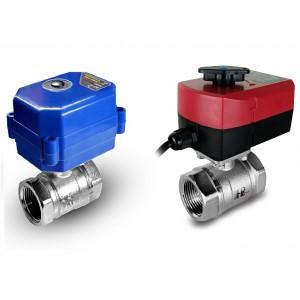 Guľový ventil 1/2 palca s elektrickým pohonom A80 alebo A82