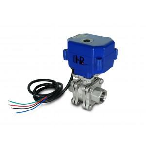 1/2 palcový vysokotlakový guľový ventil PN125 s pohonom pohonu A80 alebo A82