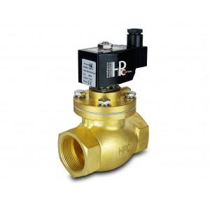 Elektromagnetický ventil pre paru a vysokú teplotu. otvorený LH50-NO DN50 200C 2 palce