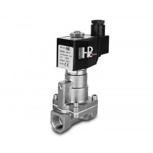 Elektromagnetický ventil pre paru a vysokú teplotu. RH20-SS DN20 200C 3/4 palcová nehrdzavejúca oceľ SS304