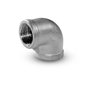 Vnútorný závit na koleno z nehrdzavejúcej ocele 1/2 palca