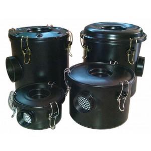 Vzduchový filter s krytom pre vírivé vzduchové čerpadlo, dúchadlo s bočným kanálom, 1 1/2 palca