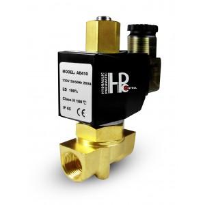 Elektromagnetický ventil otvorený 2N10 NO 3/8 palca 0-10 bar 230V 24V 12V 42V 110V