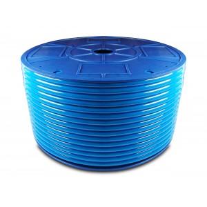 Polyuretánová pneumatická hadica PU 6/4 mm 200m modrá