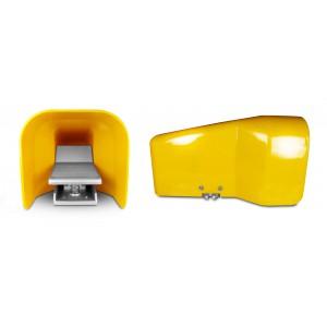 Nožný ventil, vzduchový pedál 5/2 1/4 palca pre valec 4F210G - monostabilný s krytom