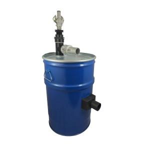 Nádrž vysávača 60l s čistením filtra stlačeného vzduchu