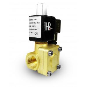 Elektromagnetický ventil 2K25 otvorený NO 1 palec 230V alebo 12V 24V