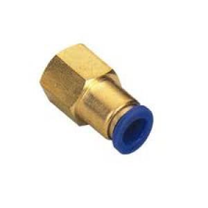 Hadicová spojka s vnútorným závitom 8 mm, 1/4 palca PCF08-G02