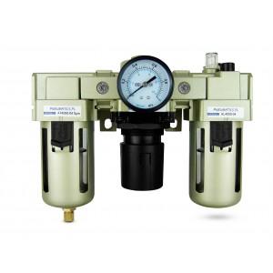 Regulátor dehydratácie filtra, maznica FRL 1/2 palca nastavená na vzduch AC4000-04