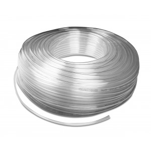Polyuretánová pneumatická hadica PU 6/4 mm 1m transp.